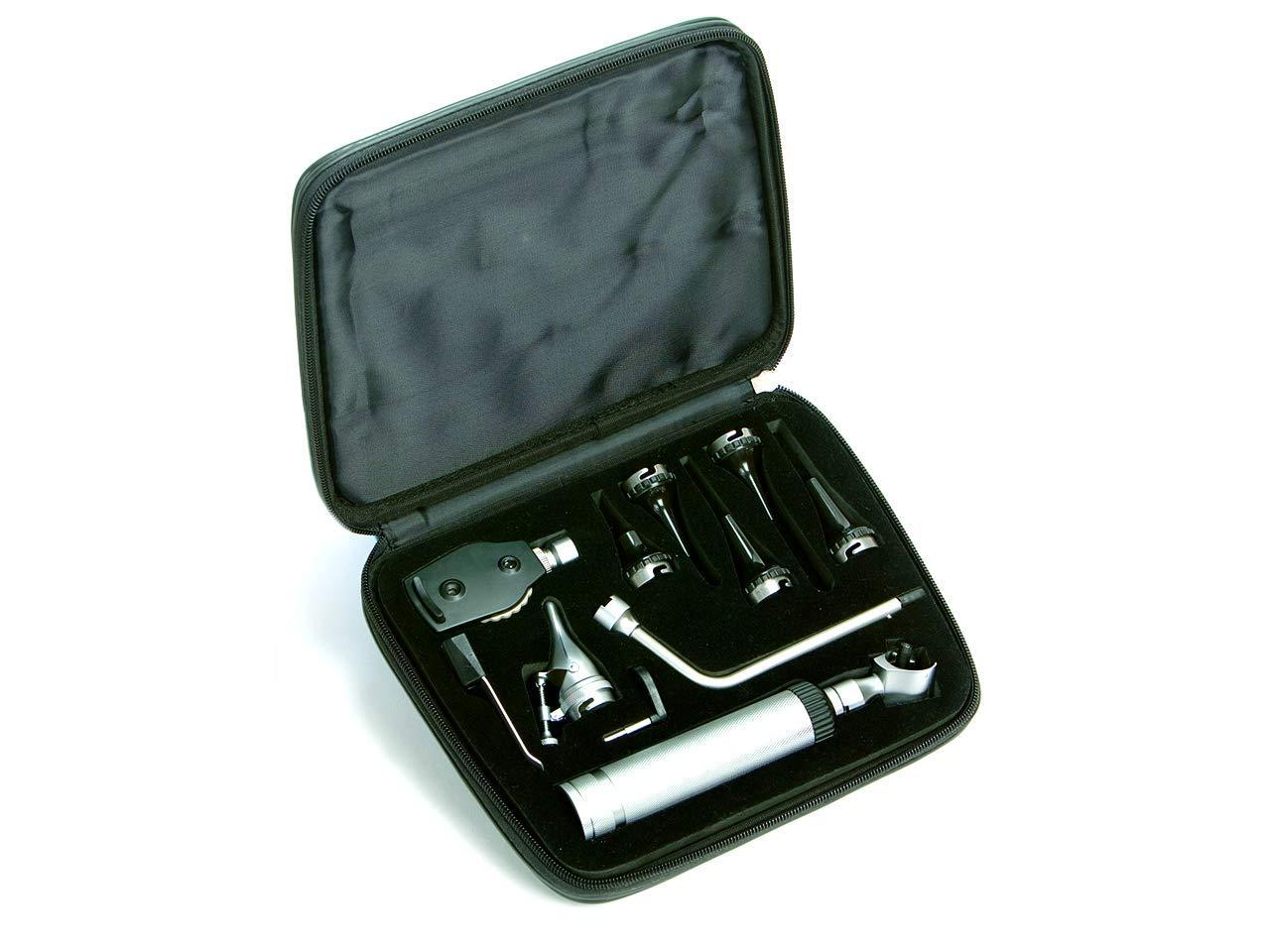 Gima 31424Juego Diagnóstico veterinaria xenon-alogeno, cánulas de plástico
