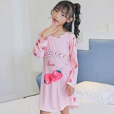 Primavera Y Otoño De Dibujos Animados Infantiles Pijamas Niñas Camisón De Algodón De Manga Larga Vestido Aisha Big Niña Camisón, 14-12码: Amazon.es: Ropa y accesorios
