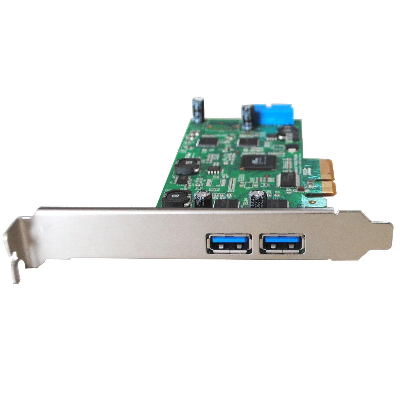High Point 2 External and 2 Internal Ports USB 3.0 PCI-Express 2.0 x4 Card Up to 20Gb/s Transfer Bandwidth Components RocketU 1142A