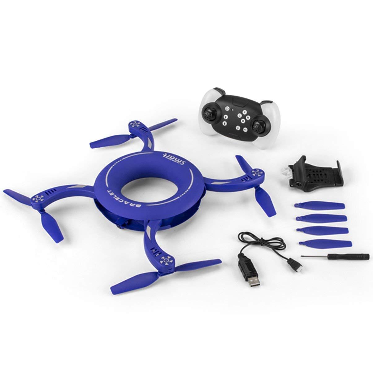 JullyeleDEgant X48 1 1 1 Kreis WiFi FPV 720p Kamera RC Drone 2.4g Falten Drehen Maß Wartung Feste Höhe Runde RC Quadcopter e823ff