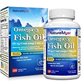 NatureMyst Omega 3 Fish Oil, 2500mg per serving, 950mg Omega3s, 120 Enteric Coated Softgels, Burpless Review