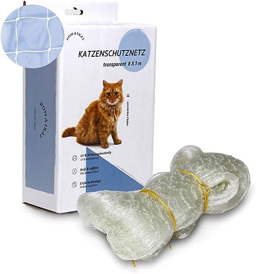 POMAIKAI Cat Safety Net para balcón, ventana y terraza, malla ...