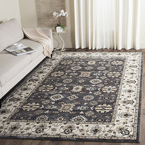 Safavieh Lyndhurst Collection LNH332G Traditional Oriental Grey and Cream Area Rug 5 3 x 7 6