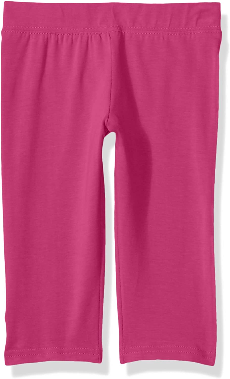 Clementine Apparel Girls Athletic Sport Capri Leggings Assorted Colors