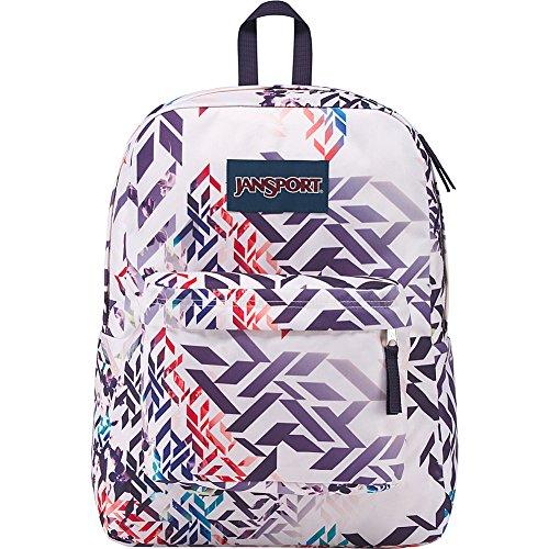 Geo Label Adult Superbreak Jansport Unisex Botanical Backpack Black qwzz0Bg