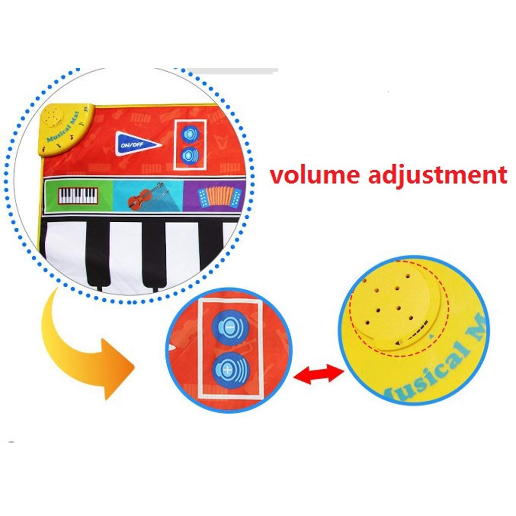 Toygogo Musical Music Piano Play Baby Mat Animal Educational Mat 148x60cm by Toygogo (Image #9)