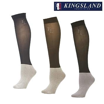 Kingsland - Calcetines de equitación azul azul marino Talla:42-46: Amazon.es: Deportes y aire libre
