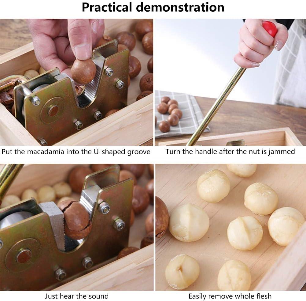 Heavy Duty Pecan Nut Cracker Opener Tool For Walnuts Chestnuts Pecans 2020 New Manual Nutcracker Nut Tongs