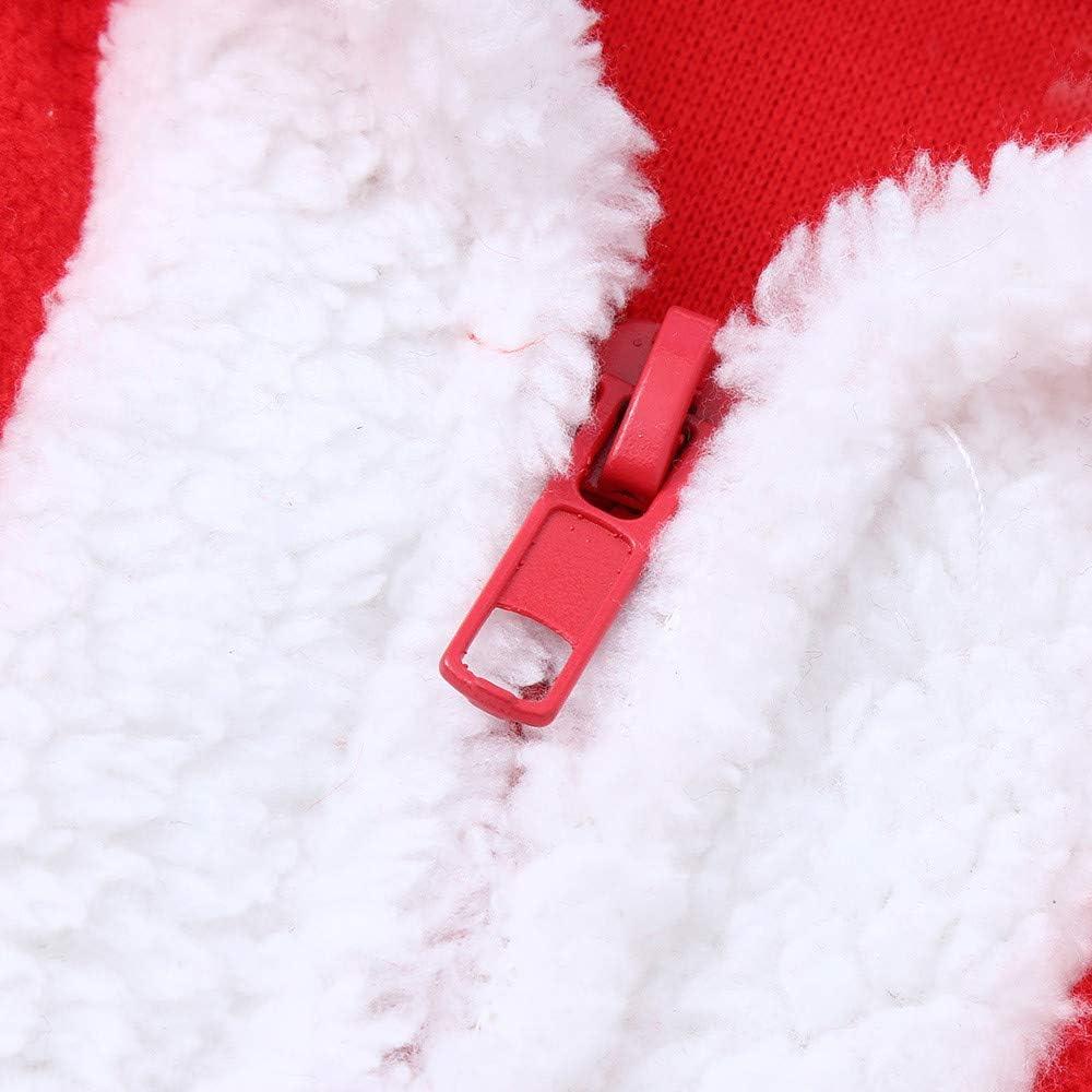 Manteau A Capuche Sweat avec Une Ceinture Deguisement Christmas Cadeau Fille Anniversaire V/êTements Hiver Angelof Costume Tailleur Enfants Accessoires De No/ëL