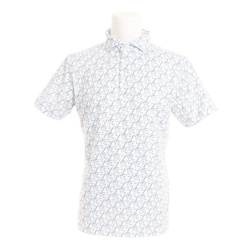セントアンドリュース(セントアンドリュース) White Label COOL STAプリントシャツ 042-9160457-030 LL ホワイト B07PBDQP34