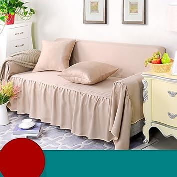 Amazon.com: MD & zzyg Reversible sofá elástica sofá, sofá ...