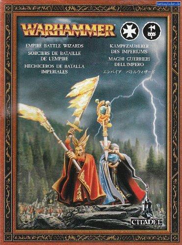 Games Workshop Warhammer Fantasy Empire Battle Wizards