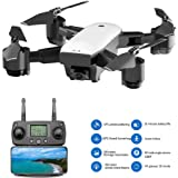 FAITHPRO S20W FPV RC Mini Drone Kit with HD 1080P Camera VR Glass Live Video, 120 Degree Wide Angle 2.4G WiFi Dynamic Follow, Support APP and Voice Control Best Quadrocopter for Beginners/Kids/Adults