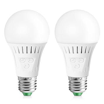 Elrigs E27 Led Lampe Mit Bewegungsmelder Und Dämmerungssensor 7w
