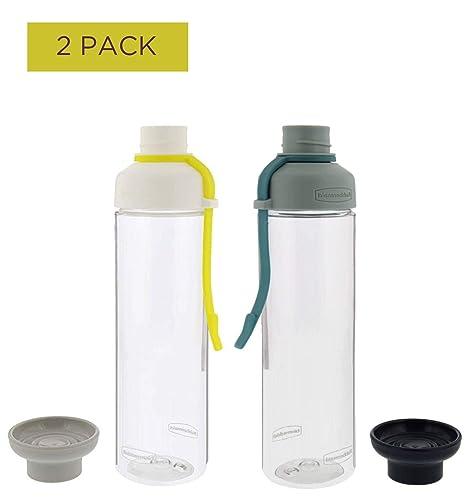 Rubbermaid - Botellas de hidratación, sin BPA, Resistente al Olor ...