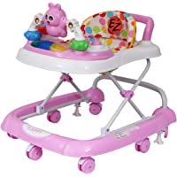 EZ' Playmates Happy Baby Walker with Music - Pink