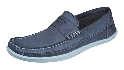 Timberland Oderlay Penny Beef Roll Zapatos para Hombre del Ante/Barco del ante-Brown