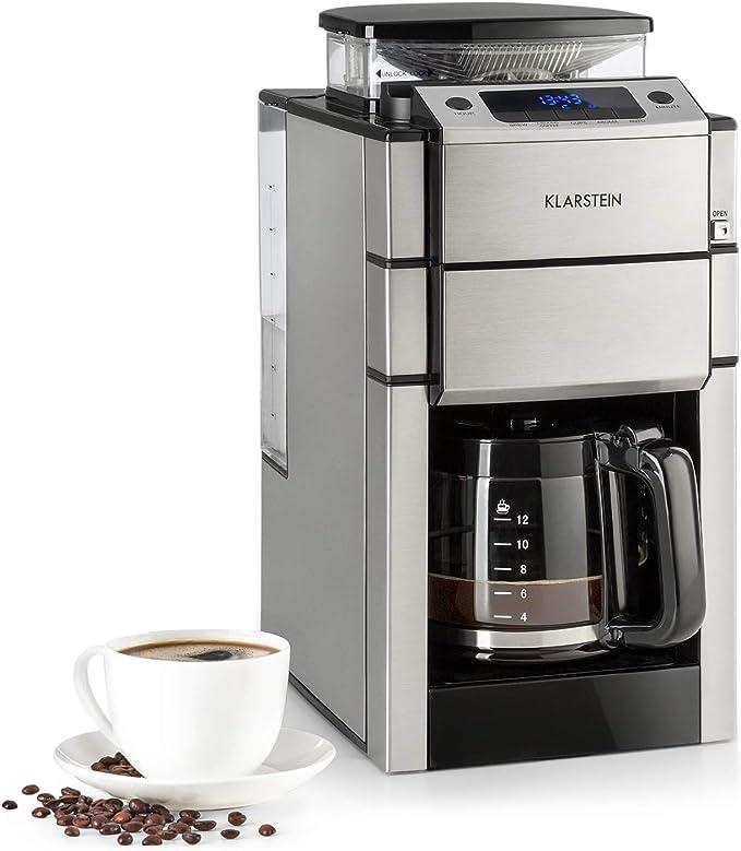 KLARSTEIN Aromatica X Máquina de café con molinillo conico- 3 ...