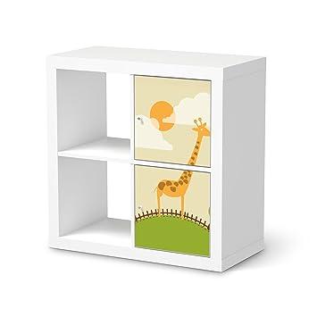 Klebefolie Sticker Aufkleber Fr IKEA Kallax Regal 2 Trelemente Hochformat