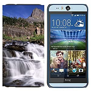 - River Water View - - Caja del tel???¡¯????fono delgado Guardia Armor FOR HTC Desire EYE M910x Devil Case