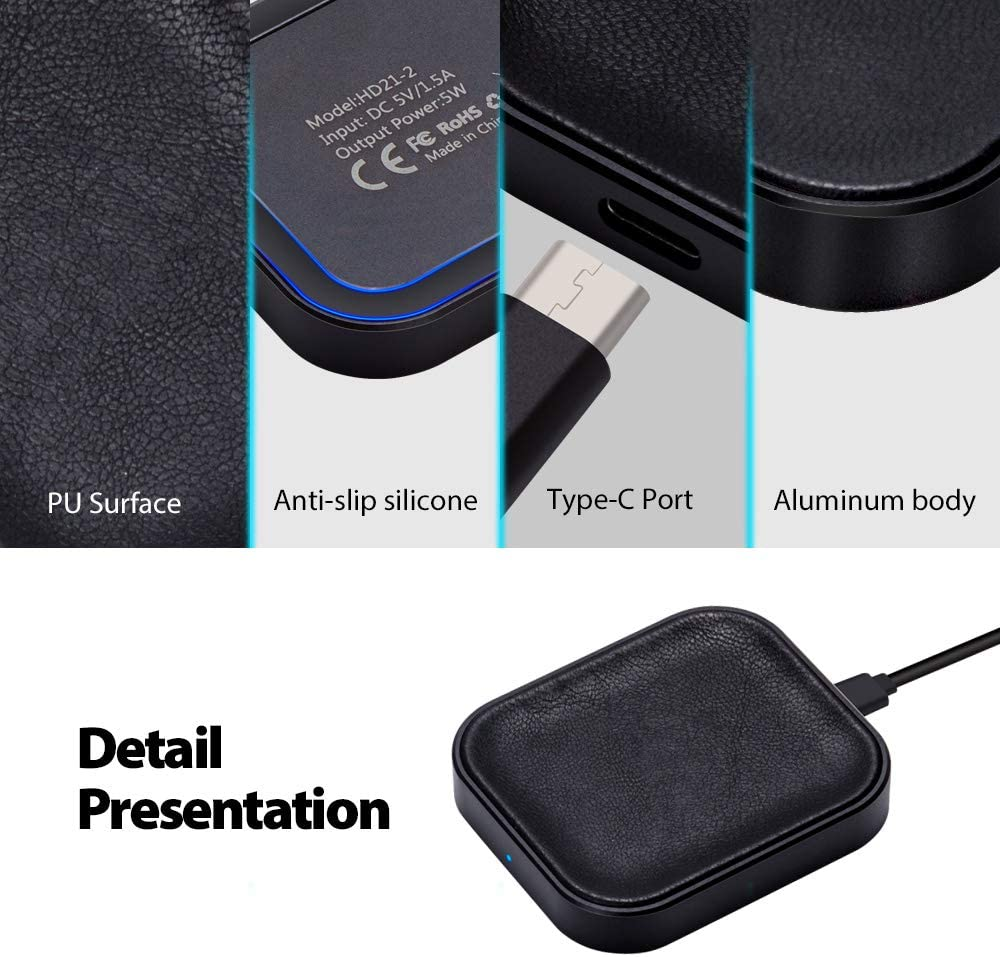 FutureCharger Airpods pro Charger, Wireless Charger for AirpodsAirpods Pro Case, Wireless Charging Station for AirpodsAirpods pro Case, Wireless
