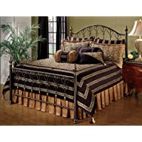 Hillsdale Furniture 1332BFR Huntley Bed Set with Rails, Full, Dusty Bronze