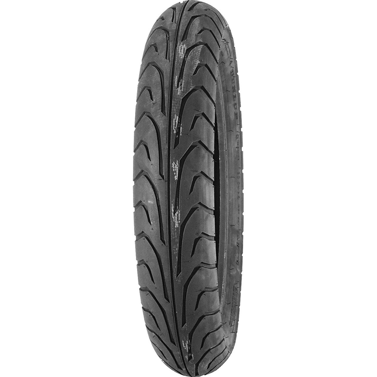 Dunlop GT501G Tire - Front - 110/70-17 , Position: Front, Tire Size: 110/70-17, Rim Size: 17, Speed Rating: V, Tire Type: Street, Tire Construction: Bias, Tire Application: Sport 300467