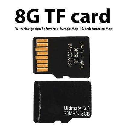 Gasignabe - Sistema de navegación con tarjeta SD (chip GPS ...