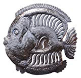 Handmade Haitian Metal Art Fish Under Water 23″ X 23″ Review