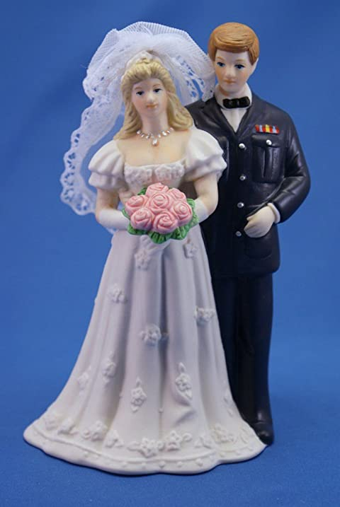 Amazon Air Force Figurine Wedding Cake Topper Kitchen Dining