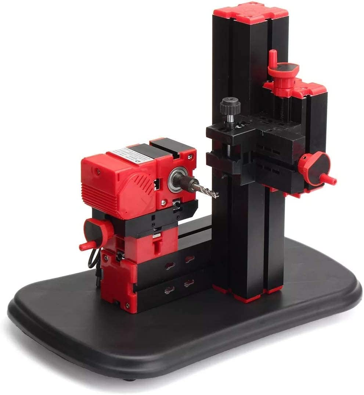 WXQ-XQ Electrical Tools DIY Woodworking Power Tools 100-240V Mini Lathe Milling Machine Bench Drilling Machine