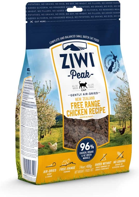 ZIWI Peak Air-Dried Cat Food & Topper Recipe - Natural High Protein, Alternative to Raw, Limited Ingredient
