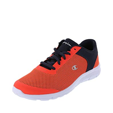 78b9d2082aa Champion Orange Navy Men s Gusto Performance Cross Trainer 6 Regular