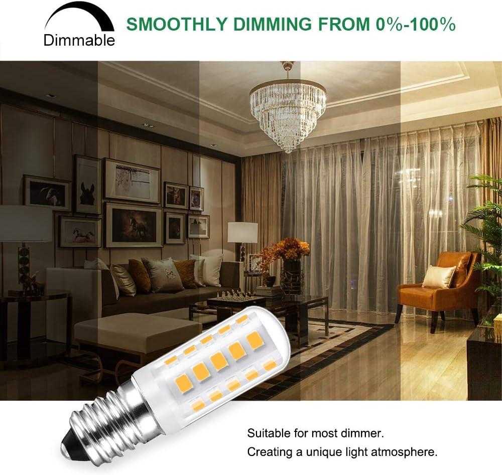 Bombilla LED Regulable E14, LED SES E14, 3W Equivalente a ...