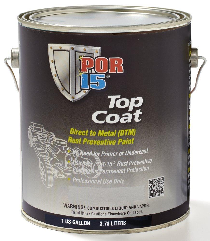 POR-15 46001 Silver Top Coat - 1 gal by POR-15