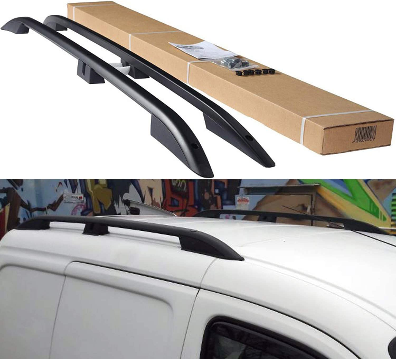 Brake Seat Covers VW Caddy Aluminium Roof Rails Roof Rack Rack from 2011-2019 Colour Matt Black