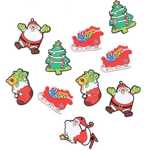 Imán de goma suave para nevera con diseño de árbol de Navidad de ...