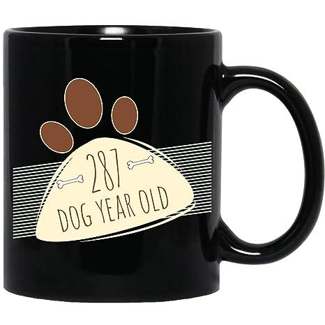 Amazon.com: 41 cumpleaños regalo – divertido 287 perro años ...