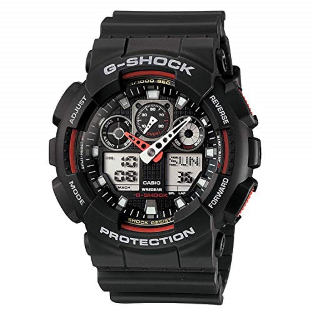 cc0c23584d Casio G-Shock Analog-Digital Black Dial Men's Watch - GA-100-1A4DR (G272)