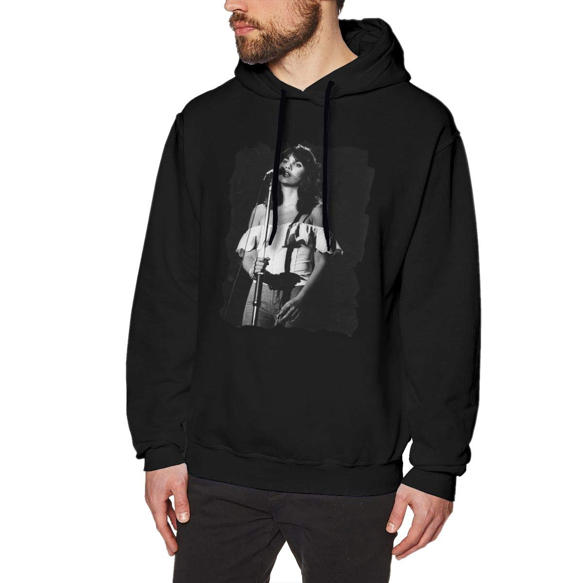 Coapye Linda Ronstadt Live In Hollywood Fashion S Hooded Black Shirts