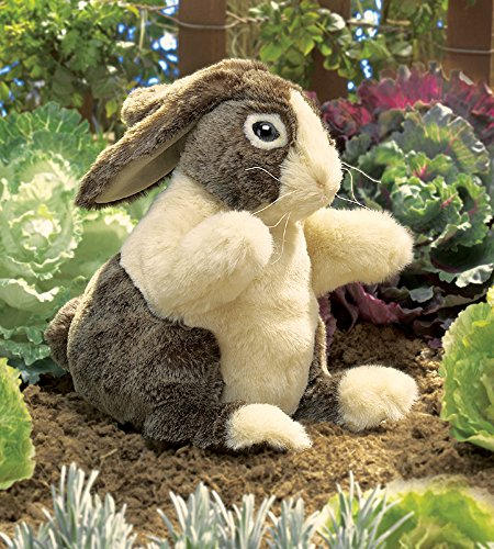 Folkmanis Dutch Rabbit Hand Puppet