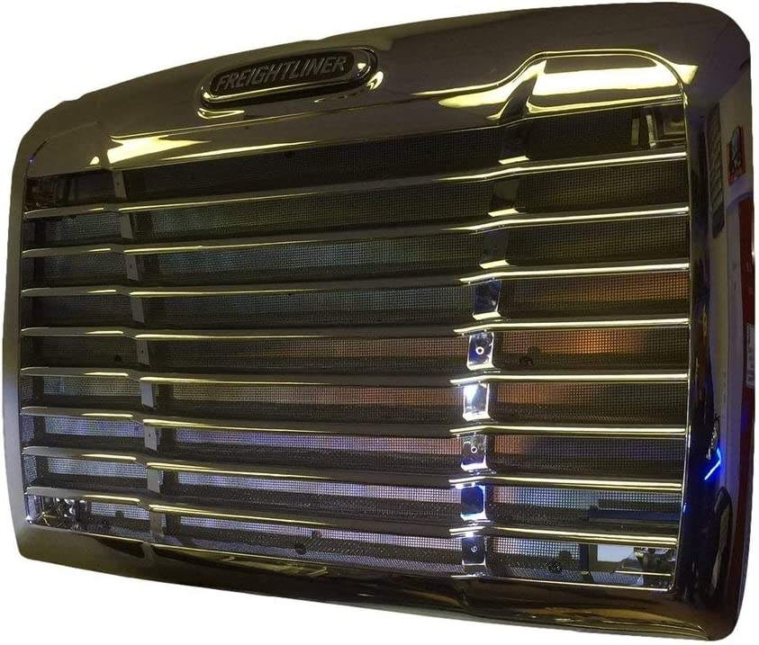 Freightliner Century Grille Chrome with Bug Net