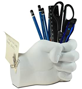 Tech Tools Hand Pen Holder with Magnetic Back - Desktop Madness Series (HS-8040)