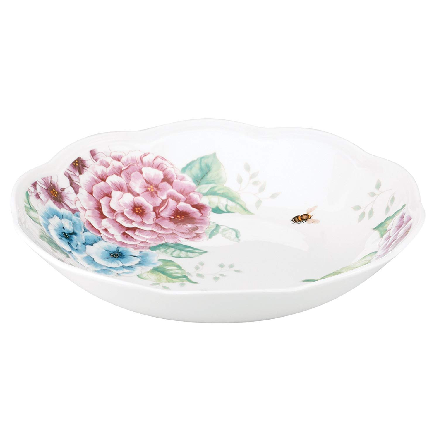 Lenox Butterfly Meadow Hydrangea Individual Pasta Bowl SET OF 4