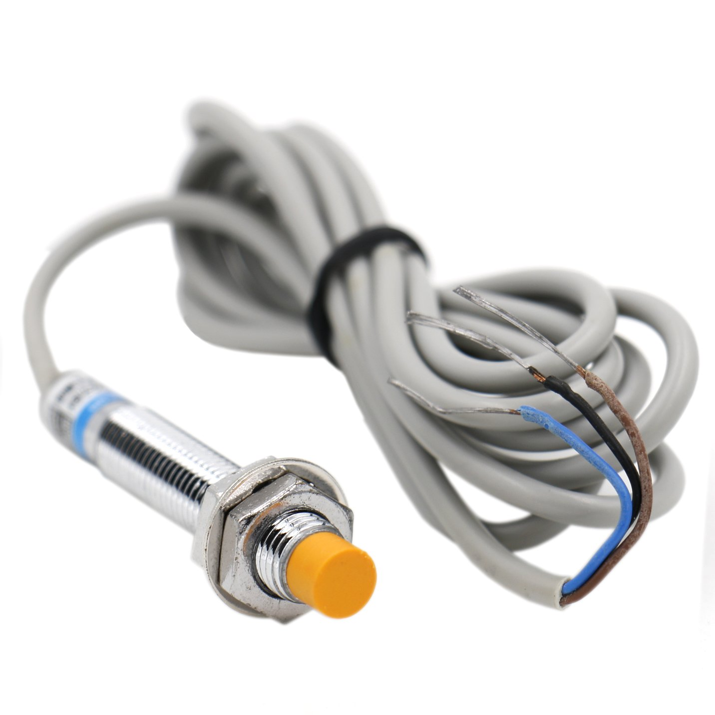 Heschen inductive proximity sensor switch LJ8A3-2-Z/BY detector 2 mm 6-36 VDC 200mA PNP normally open(NO) 3 wire Heschen Electric Co.Ltd HS-LJ8A3-2-Z/BY