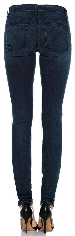 Joe's Jeans Destructed Mid Rise Skinny Jeans, Ellery (Dark Blue), Size 25