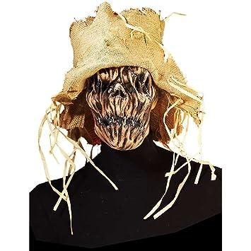 Máscara de espantapájaros esqueleto para adulto