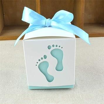Amazon.com: JEWH - Caja de caramelos para pies de bebé, con ...