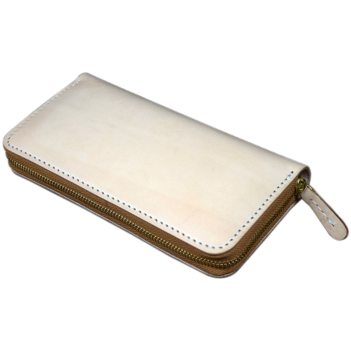 OLG.YAT Vegetable tanned leather Retro Genuine Leather Durable Slim Wallets OLG-WLYS2