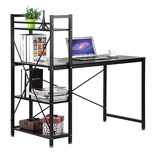 ALTERDJ escritorios 121 x 60 x 120 cm - Mesa de Ordenador - Mesa ...